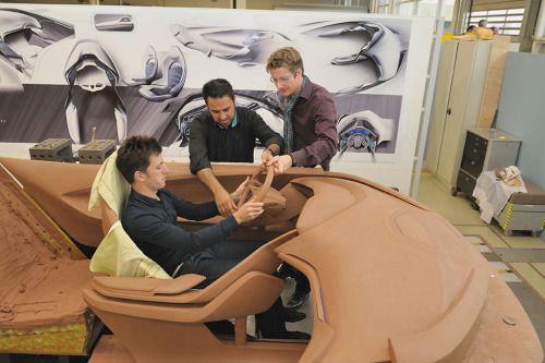 Ford Evos Interior Clay Ergonomics Maketirovanie Modelirovanie Motocikl
