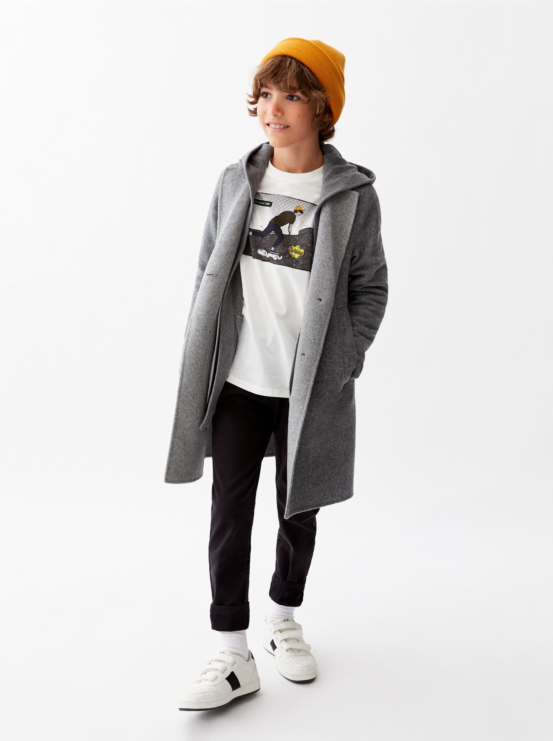 b6e524aa Image 1 of BASIC CHINO PANTS from Zara Outfits Niños, Dope Outfits, Children  Outfits