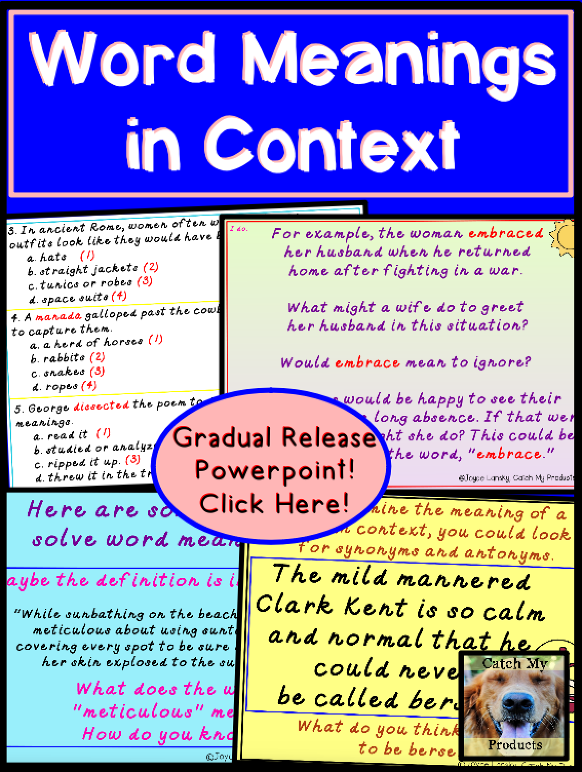 Word Meaning From Context Clues