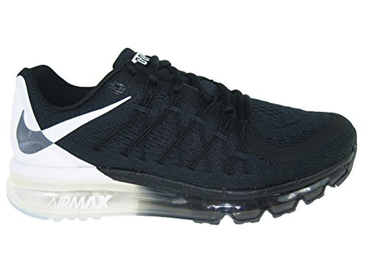 official photos 7a37e 19edc Nike Womens Air Max 2015 DOS Black White Black Nylon Running Shoes 8.5 M US  - Brought to you by Avarsha.com