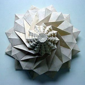 Chris palmer origami flower tower paper arts pinterest flower chris palmer origami flower tower mightylinksfo