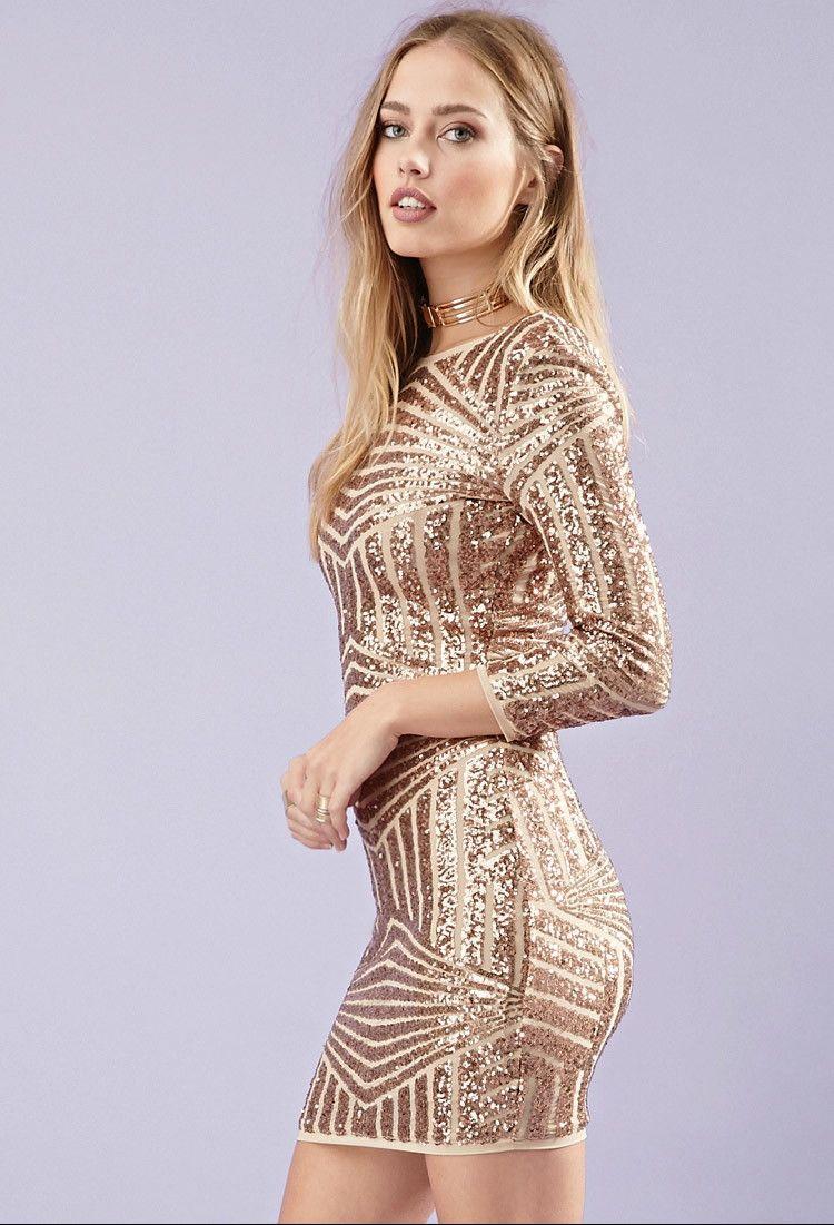 Gold dress forever 21 number | Color dress | Pinterest | 14 ...