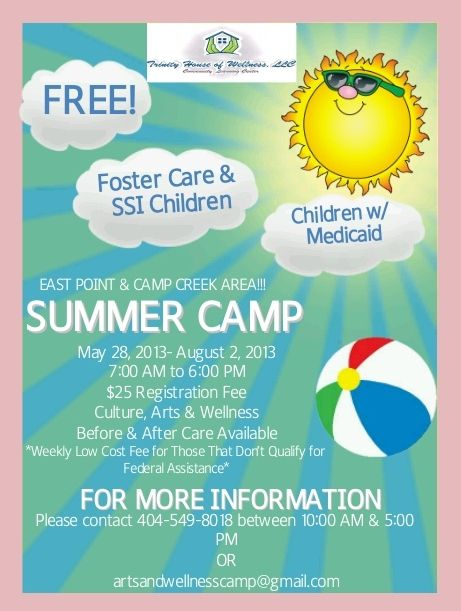 Summer Camp Flyer  Our Images    Summer School And School