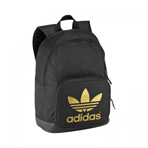 b5abbe897230e adidas Originals - AC Backpack Classic black metalgold metalgold (G84824)
