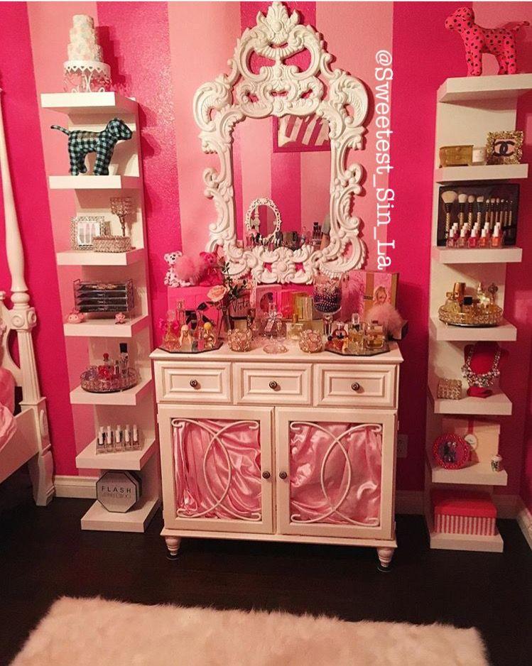 My Dresser In My Bedroom Itu0027s Victoria Secret / Pink Themed