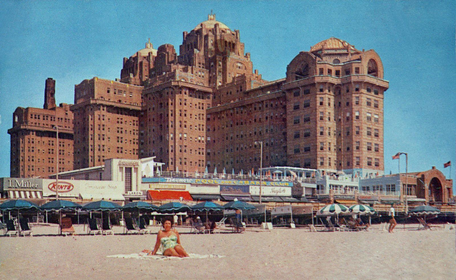 Hotel Traymore Atlantic City New Jersey Atlantic City Atlantic City Hotels Atlantic City Boardwalk