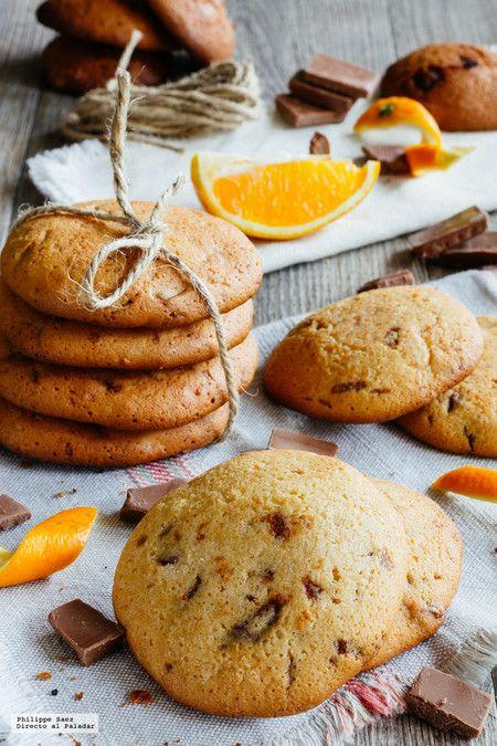 Galletas De Chocolate Y Naranja Receta De Repostería Fácil
