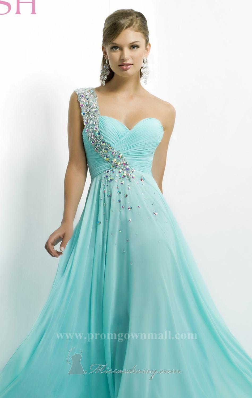 Sweet Asymmetrical Sweetheart Gown by Blush by Alexia [ 9760]