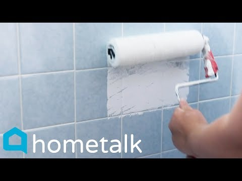 Painting Ceramic Tile Easily Update Your Old Tub Without Remodeling Hometalk Youtube Painting Ceramic Tiles Painting Bathroom Tiles Painting Tile