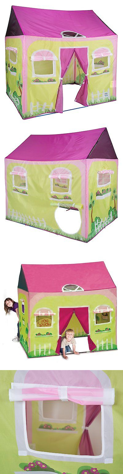 Play Tents 145997 Pacific Play Tents Kids Cottage Play House Tent Playhouse For Indoor Outdoor & Play Tents 145997: Pacific Play Tents Kids Cottage Play House Tent ...