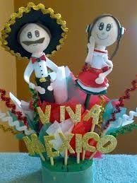 d05d8eb801e46 como hacer centros de mesa mexicanos - Google Search