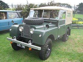 Land Rover Series I 1948_1985 | TATA MOTORS | Pinterest | Land ...