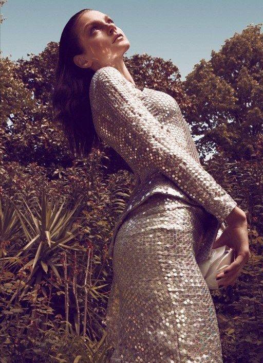Jessica Stam: Vogue Hellas, June '12