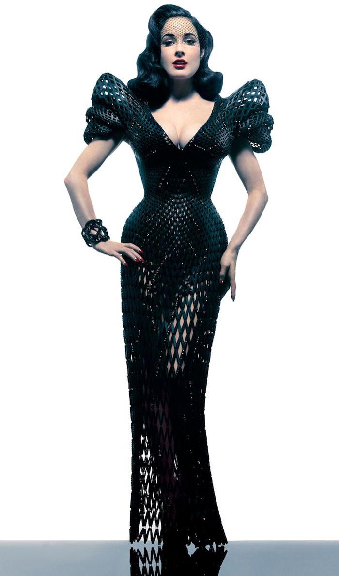 Ein gedrucktes Kleid! Ist das der Trend von morgen?