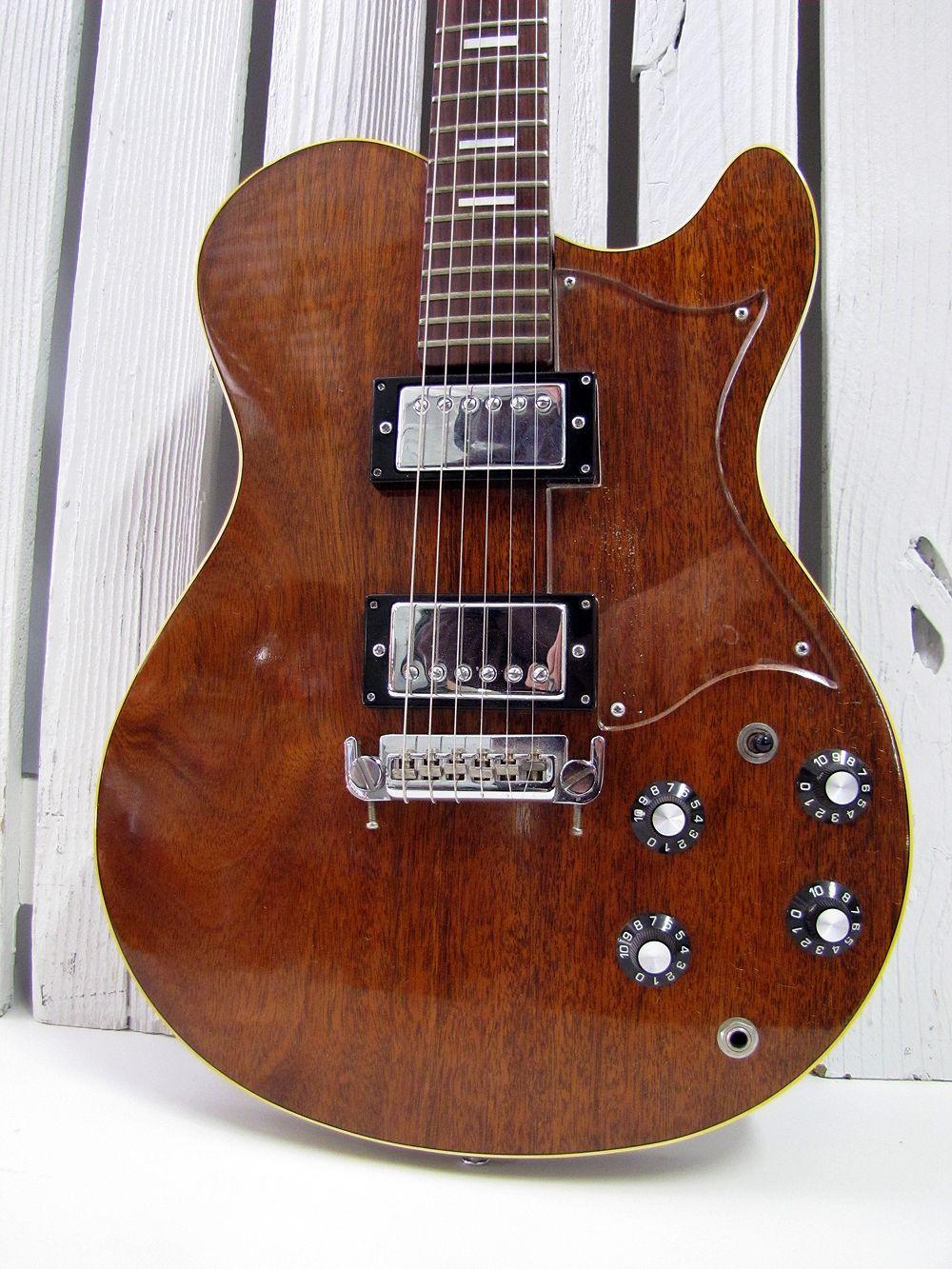 VINTAGE 1976 GRETSCH 7635 ROC II ROCK ELECTRIC GUITAR