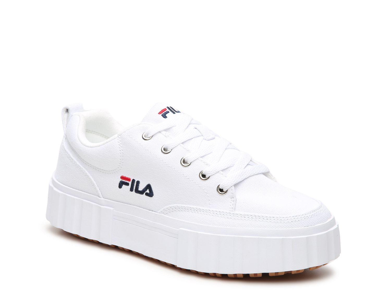 Fila Sandblast Low Platform Sneaker Women S In 2021 Platform Sneakers Womens Sneakers Fila White Sneakers