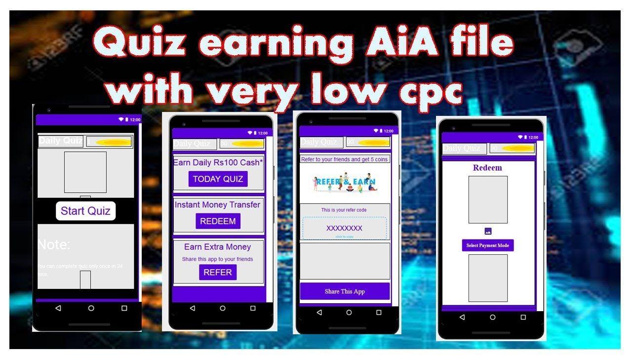 Download Earn Money Quiz App – Shredz
