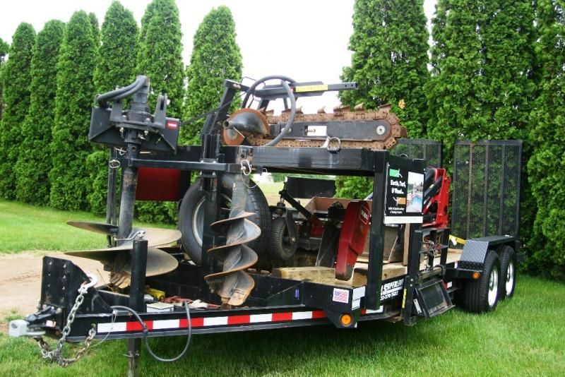Equipment photos Landscape trailers, Lawn care