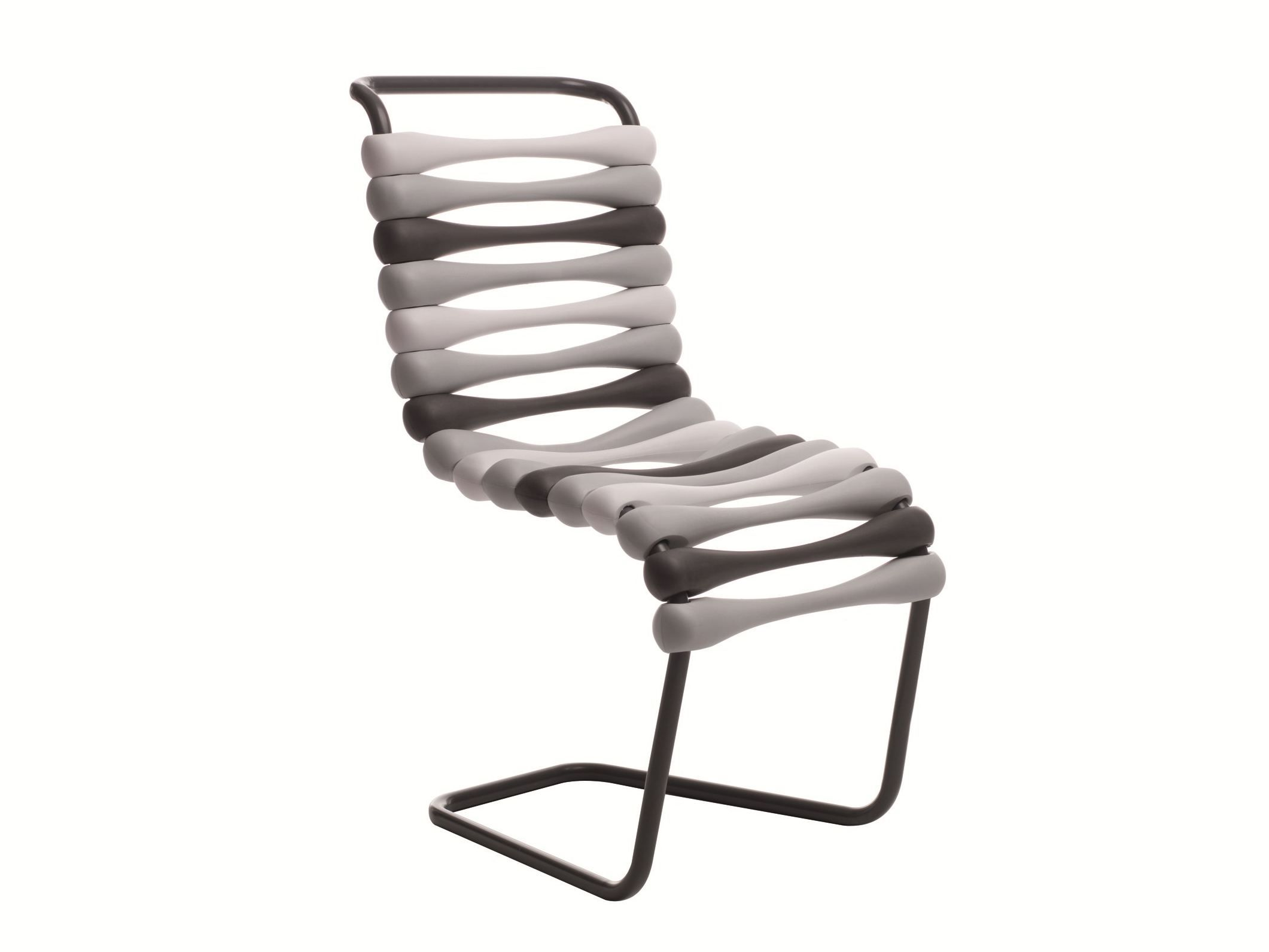 Best Cantilever Stackable Chair Bounce By Gufram Design Karim 400 x 300