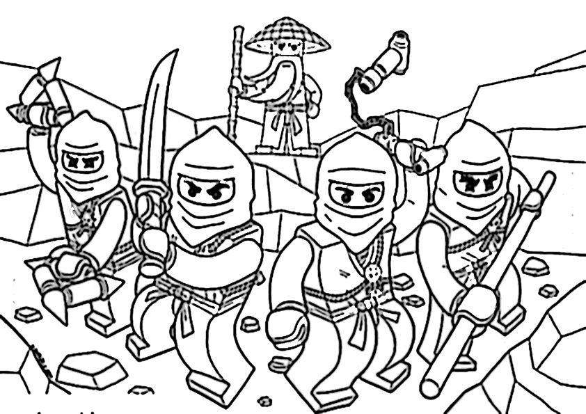 Ninjago Ausmalbilder Zum Ausdrucken Ausmalbilder Für Kinder