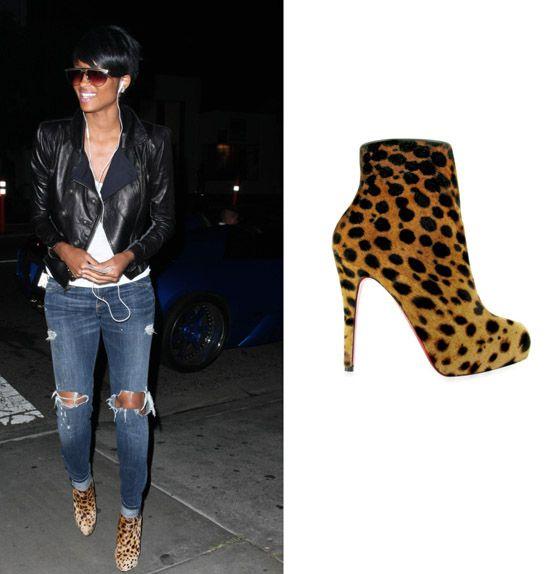 christian louboutin leopard pumps shoes - Bavilon Salon