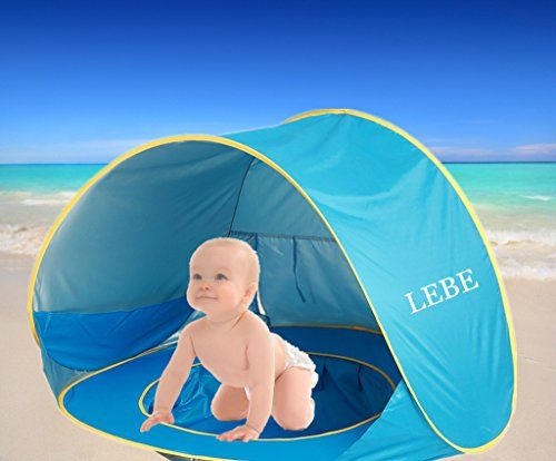 Lebe Baby Beach Tent Portable Infant Baby Pop Up Pool Wit Baby Beach Tent Beach Tent Baby Protection