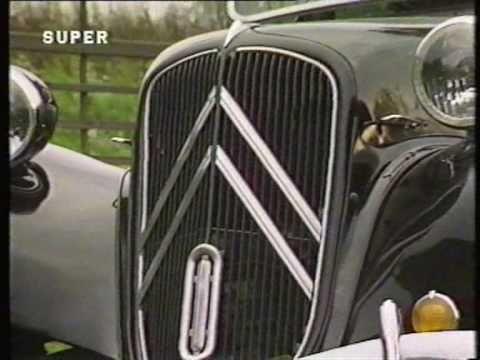 ▶ CITROËN Traction Avant - Top Gear - YouTube
