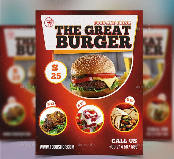 restaurant flyer template 56 free word pdf psd eps indesign