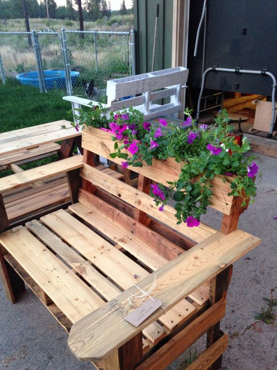 Diy Wooden Bench With Built In Flower Box Easy And Crafts