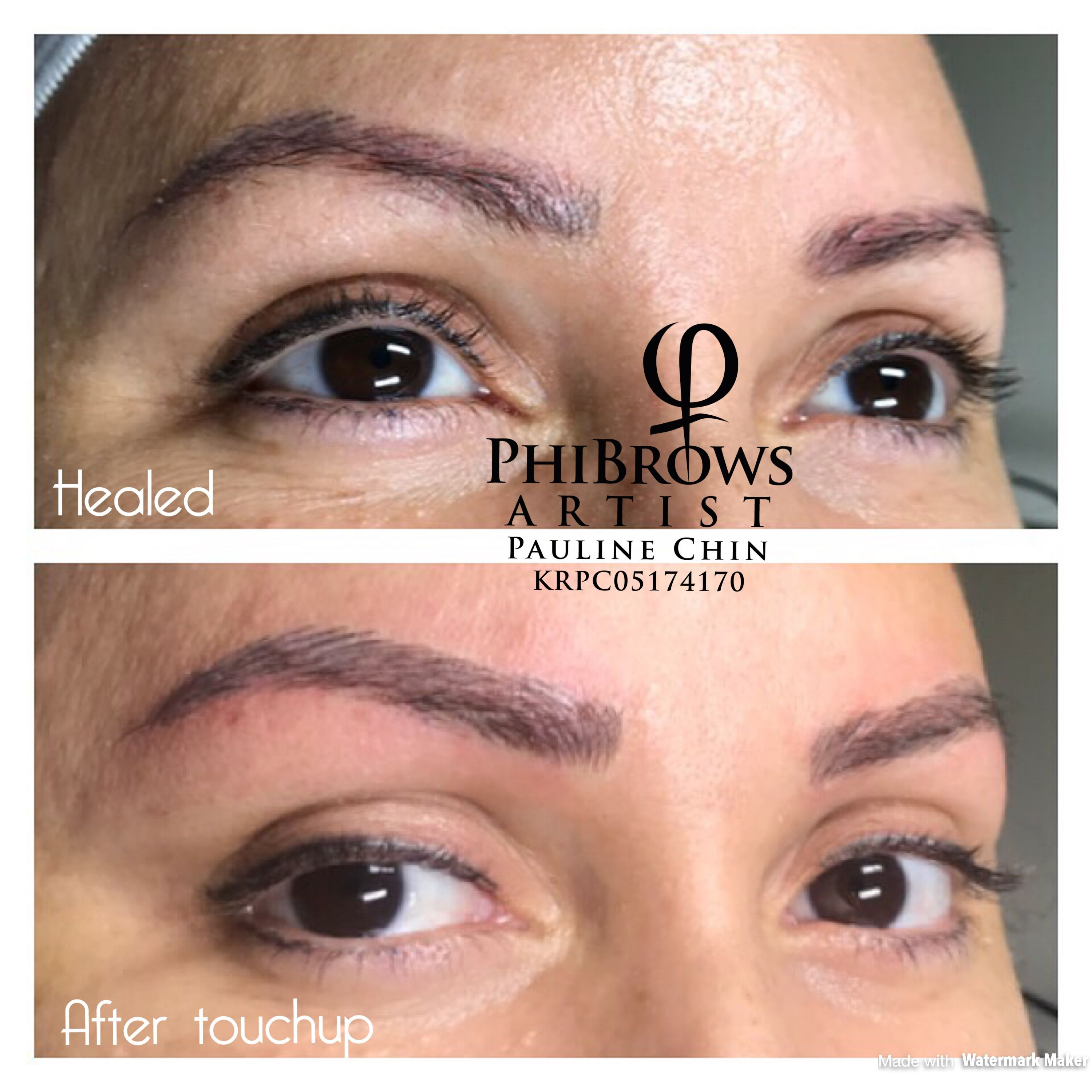 Image by Artistries of Phi on Healed Microblading
