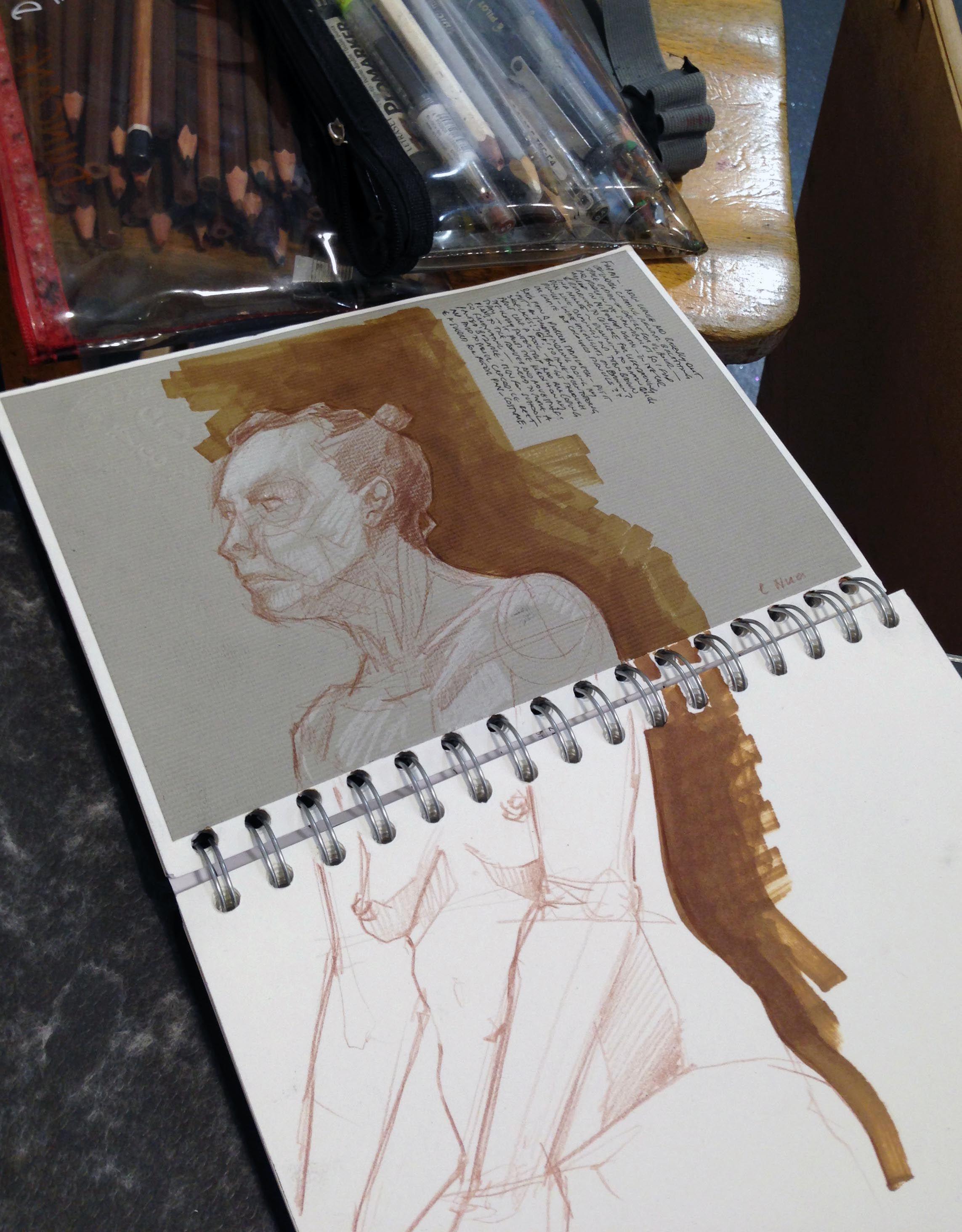 Artist Life Drawing Sketch Pad