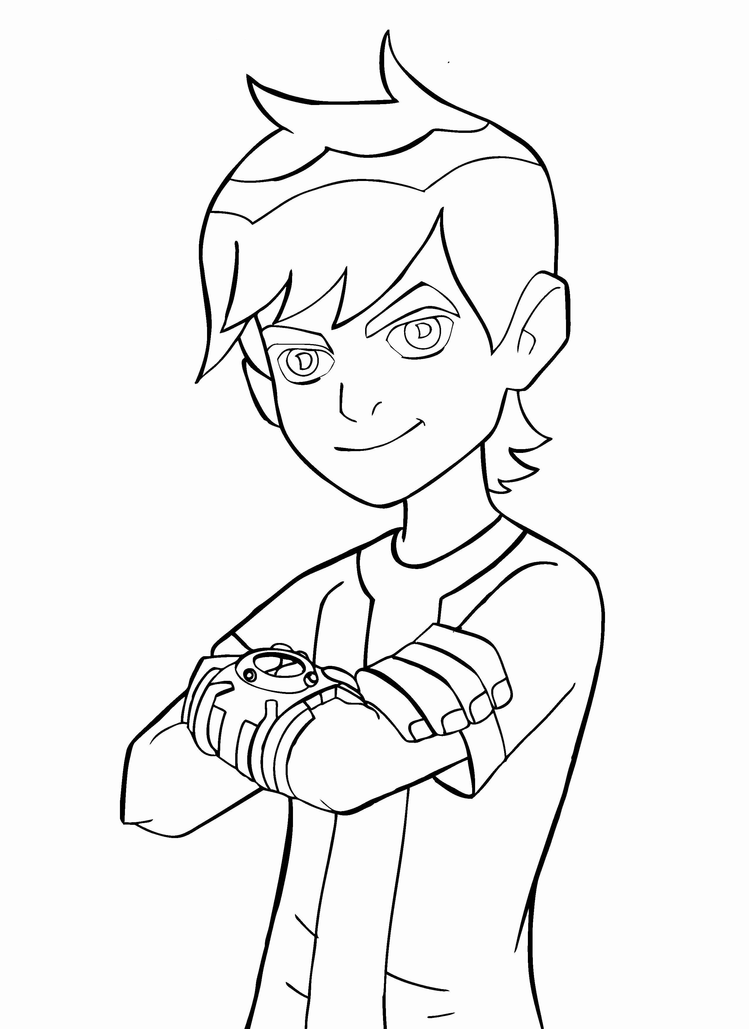 28 Ben 10 Coloring Page In