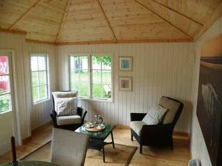 Luxury Insulated Timber Garden Rooms Delivery Installation Incl Summer House Interiors Insulated Garden Room Shed Interior