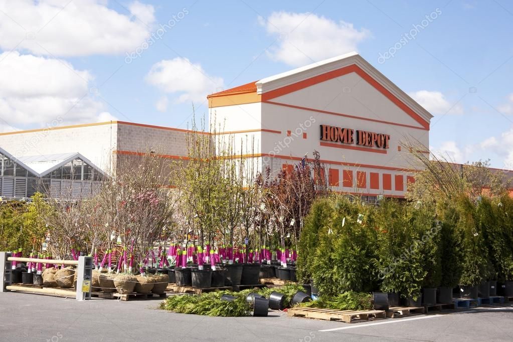 Home Depot (big box home improvement retailer) garden