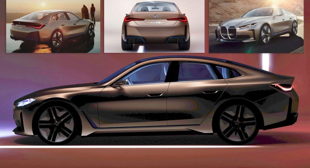 Bmw S Concept I4 Is One Step Before Production New Photos Bmw