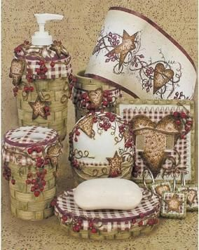 hearts and stars kitchen collection hearts and stars bathroom by linda spivey country house decor primitive decorating country 3940