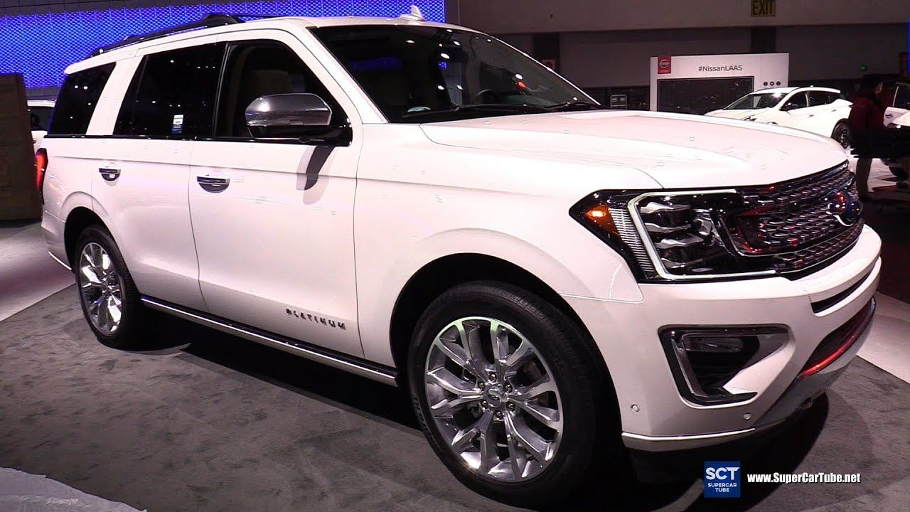 2018 Ford Expedition Platinum Exterior and Interior
