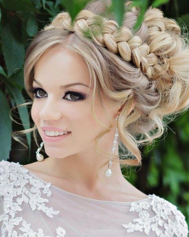 Shoulder Length Hairstyle For Wedding di 2020 | Gaya ...
