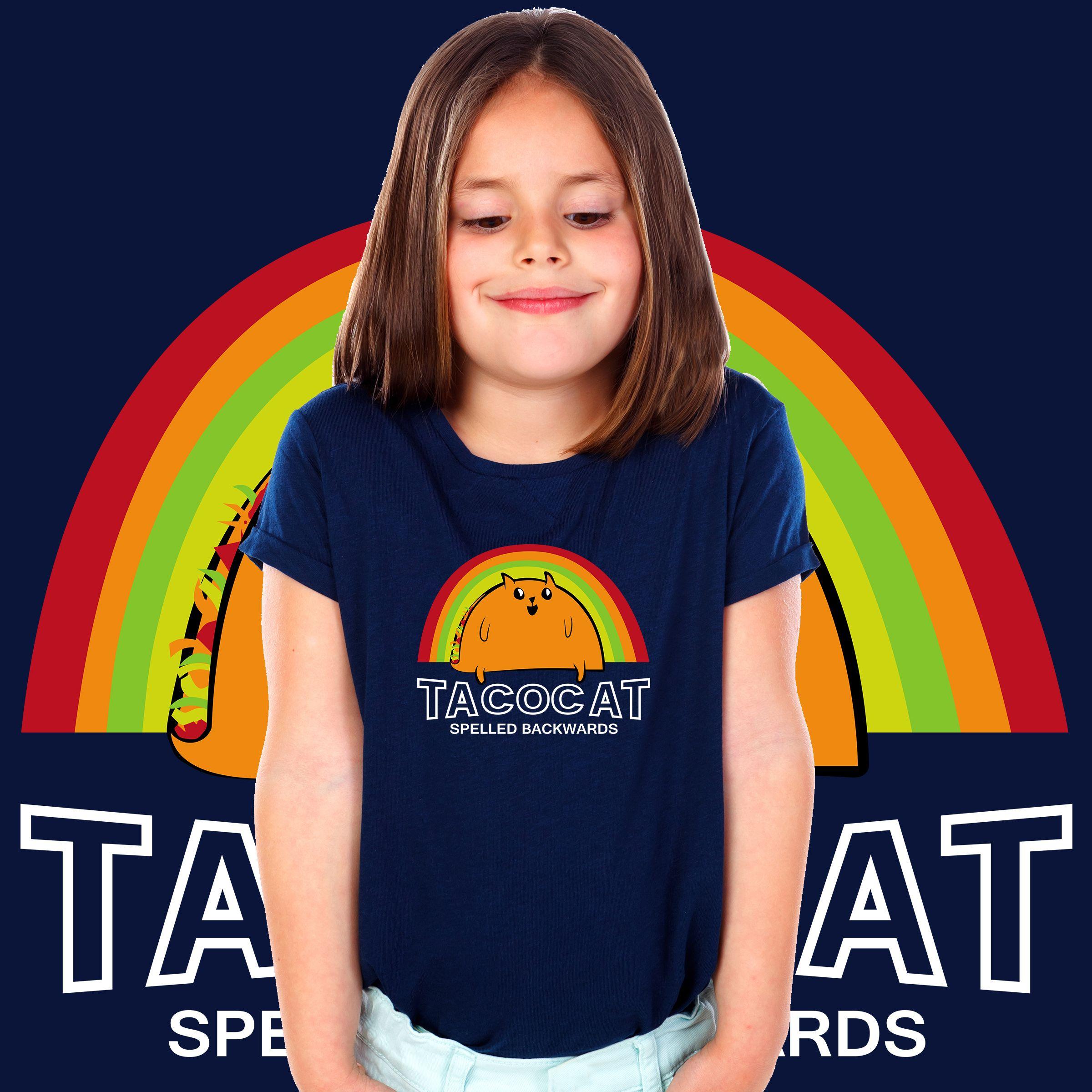 9738ab6c Taco Cat Spelled Backwards Youth T-shirt Designer by #Adel 🌮🐱 - #Taco  #TacoCat #cat #SpelledBackwards #Spelled #Ilovecat #paw #Mexico #Mexican  #cartoon ...