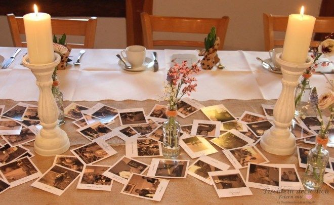 Tischdekoration Zum 80 Geburtstag Tischdekoration
