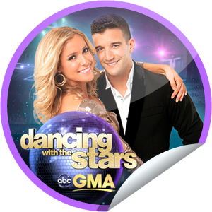 DWTS on GMA on October 5!...She was the bad girl on The Hills, but since she didn't play that role on DWTS, we felt badly for her when she was eliminated! Good thing she had this GetGlue.com sticker to lift her spirits!