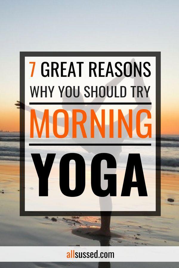 Benefits of morning yoga. #yoga #fitness #wellbeing
