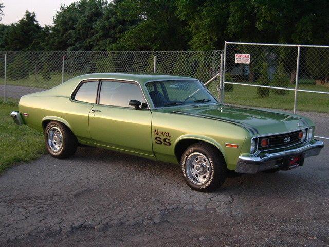 1974 Nova SS - Bright Green