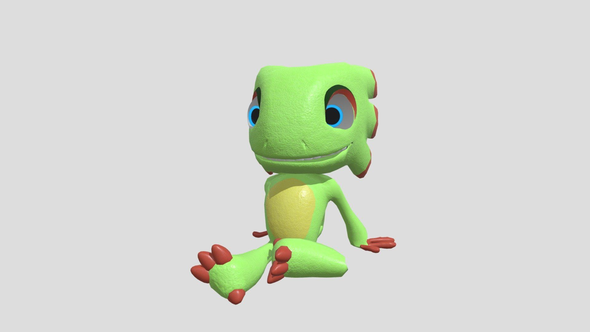 Rigged Model Of Yooka From Yooka Laylee Download Free 3d Model By Todor Goddhoward Da5946f Ad Paid In 2020 Photo Black Architecture Photo Mario Characters