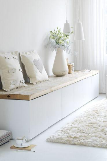 idee bank f r wohn esszimmer diy pinterest wohn esszimmer b nke und esszimmer. Black Bedroom Furniture Sets. Home Design Ideas