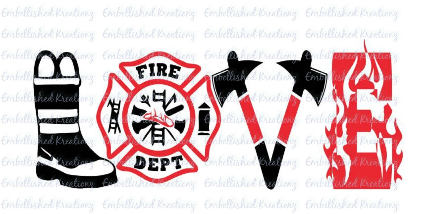 Download Firefighter/Fire and Rescue/Fire Wife/'Love Firefighter ...