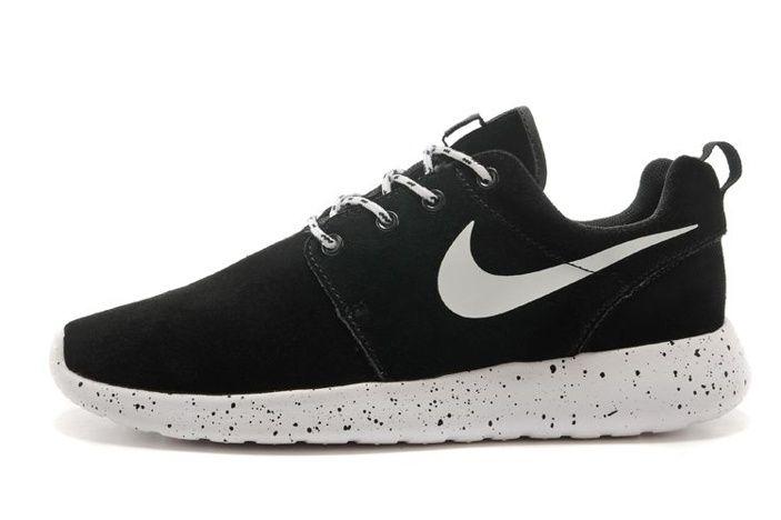 8c61b6897d58 Beste Rabatt Nike Roshe One Laufschuhe Pelz Schwarz Weiß, Billige Nike Air  Max Discount
