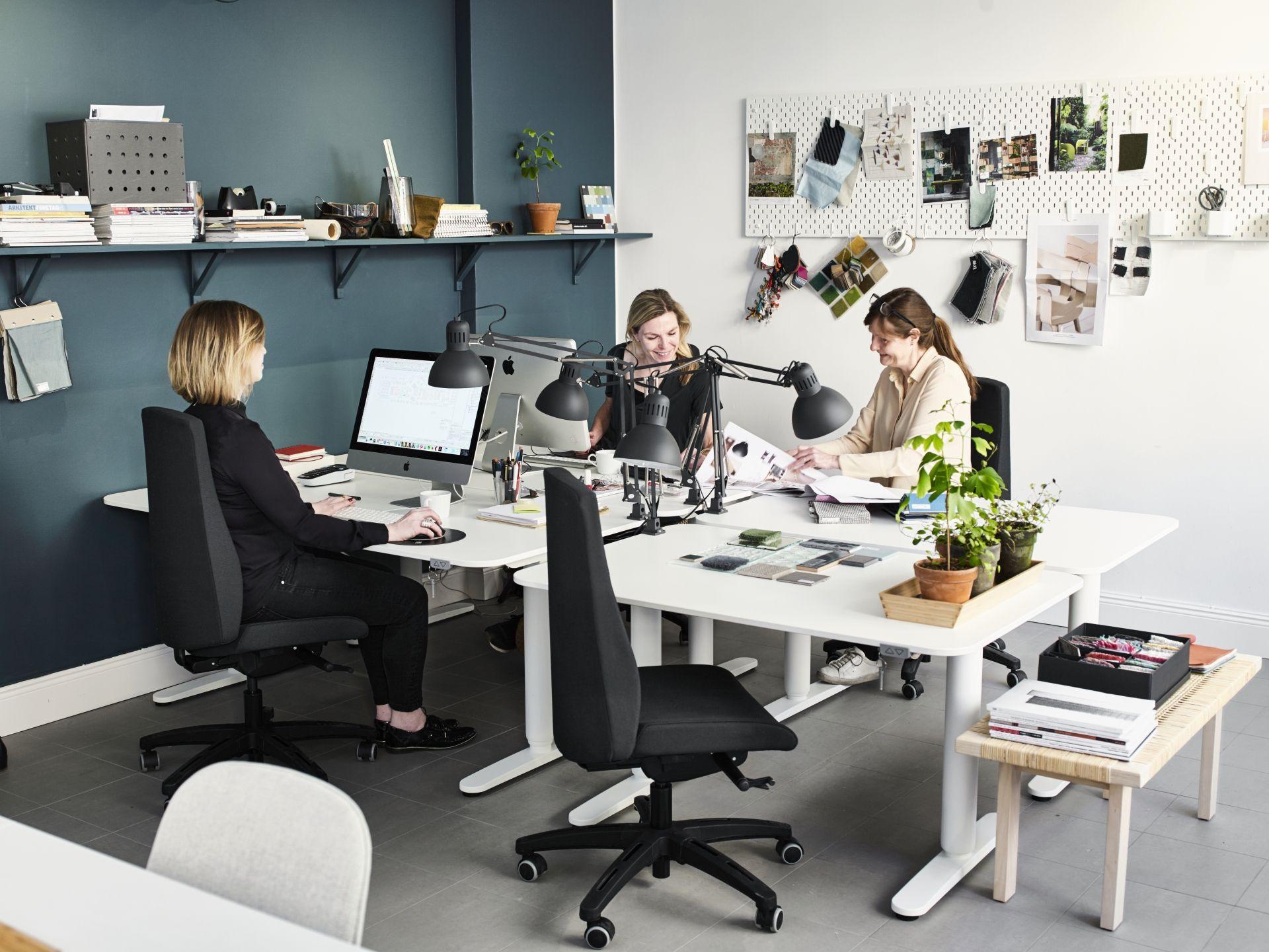 Bureau Tafel Ikea Wit.Bekant Bureau Wit Ikea Ikea Office Office Decor Ikea Bekant