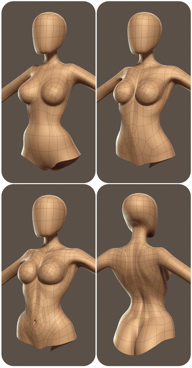 A collection of anatomy and pose references for artists. | 3D heykel ...