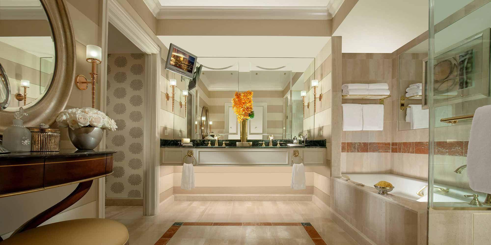 The Venetian Luxury Suite Bathroom Beautiful Bathrooms